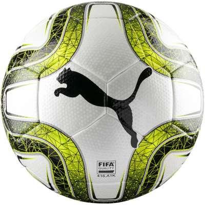 Puma Final 3 Tournament Fußball - white/lemon
