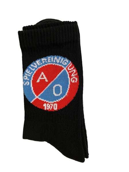 SV A/O Socken - schwarz